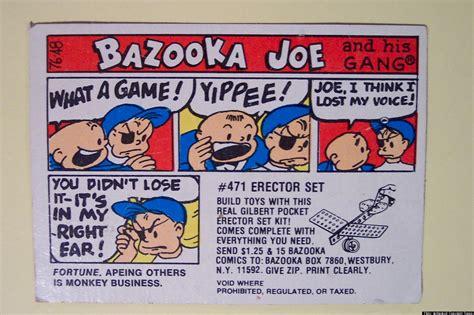 bazooka joe bazooka joe character chewed up and spit out by topps inc after 59 years