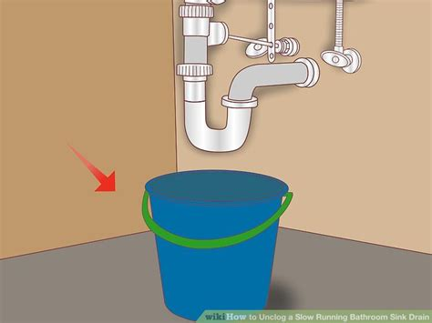 4 Ways To Unclog Bathroom 4 Ways To Unclog A Running Bathroom Sink Drain Wikihow