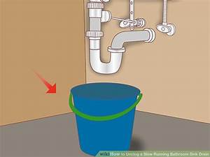 5 simple ways to unclog a bathroom sink wikihow for Ways to unclog a bathroom sink