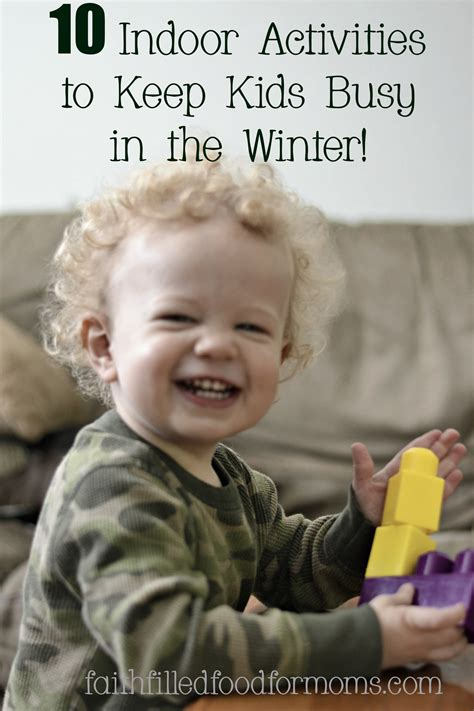 I'm Bored! 10 Great Activities To Keep The Kids Busy In Winter