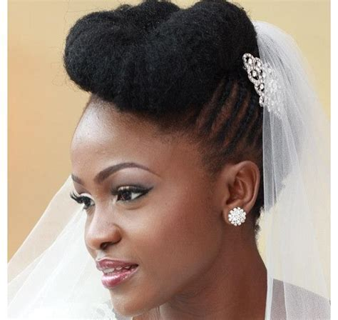 Over 20 Natural Hair Styles for Wedding Day Success