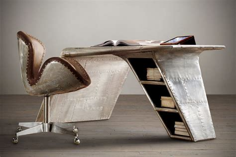 aviator wing desk furniture aviator wing desk by restoration hardware mikeshouts