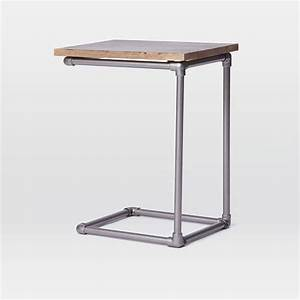 Pipe Side Table west elm