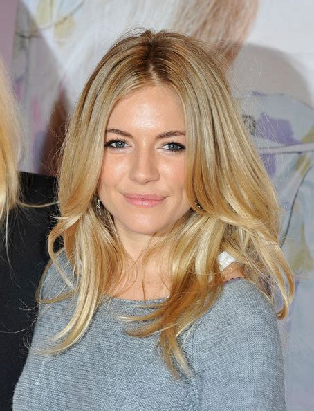 Sienna Miller Straight Long Hairstyles