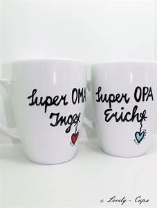 Geschenke Für Oma Weihnachten : personalisiertes geschenk die tassen mit namen f r oma und opa du willst es deinem papa opa ~ Orissabook.com Haus und Dekorationen
