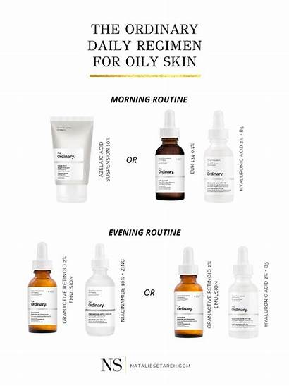 Ordinary Skin Acne Routine Oily Skincare