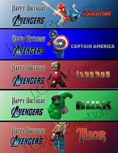 83 best superheroes up up and away images on pinterest With avengers water bottle labels