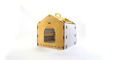 Indoor Cat House With Easy Take Anywhere  House Design