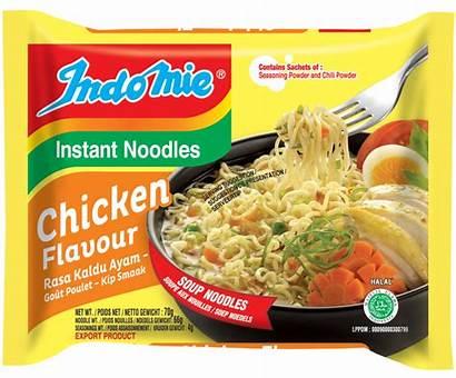 Chicken Noodles Indomie Flavour Packets Noodle Case