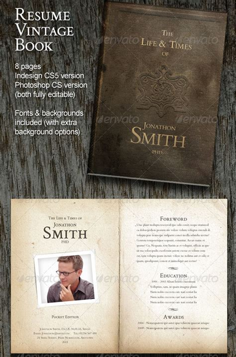 Vintage Resume Template by Phuket Resume Collection And Creative Design 21 Stunning Creative Resume Templates