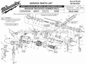 Milwaukee Magnum Drill Wiring Diagram