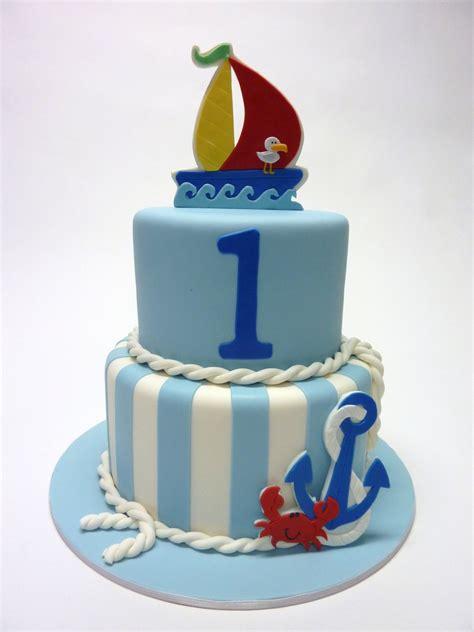 Nautical 1st Birthday Cakecentralcom