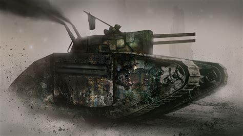 double barrel steam tank image  mans land mod db