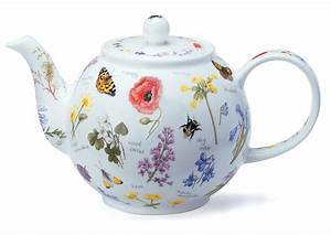 Dunoon, Wayside, Floral, Large, Teapot