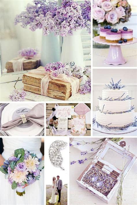 Lavender Wedding Theme Inspiration Lavender wedding