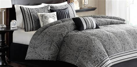 Madison Park Wellington Paisley 6 Pc Duvet Cover Set