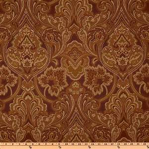 Jacquard Fabric - Designer Fabric by the Yard Fabric com
