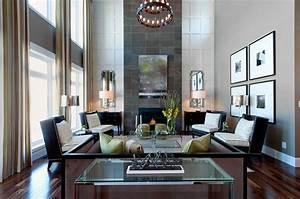 Wohnzimmer Wand Design : wie ein modernes wohnzimmer aussieht 135 innovative designer ideen ~ Sanjose-hotels-ca.com Haus und Dekorationen