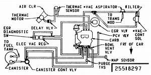Solved  Need Vacuum Diagram For Egr Valve On 351 Windsor