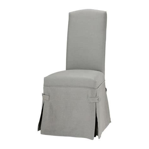 la redoute housse de chaise housse de chaise gris clair