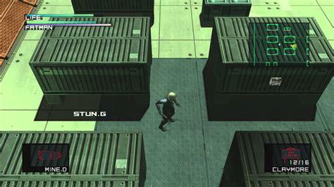 Metal Gear Solid 2 Fatman Boss Battle With Cutscenes