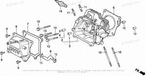 Honda Small Engine Parts Gx160 Oem Parts Diagram For
