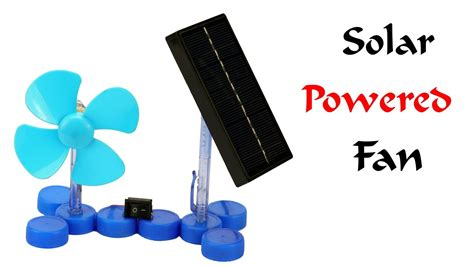 how to make a solar powered fan how to make a mini solar powered electric fan at home