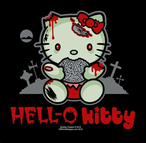 hell kitty parody shirt kitty zombies zombie apocalypse