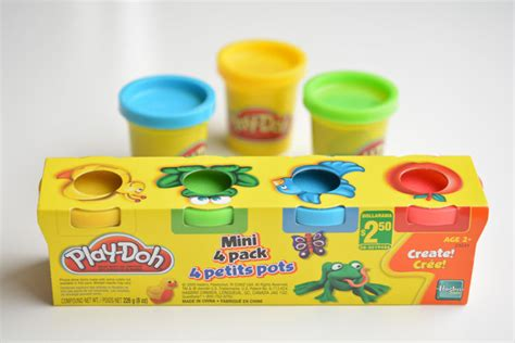 mini play doh tubs play doh favours