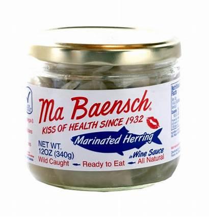 Herring Wine Sauce Baensch Ma Marinated Seafood