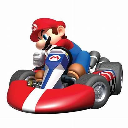 Kart Mario Super Clipart Nintendo Wall Bros