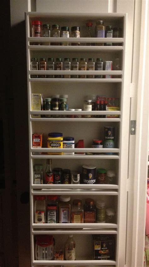 Spice Rack For Pantry Door by Spice Rack Pantry Door Organization
