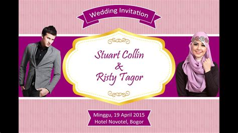 jasa pembuatan desain undangan pernikahan sebar