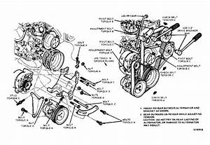 1986 Lincoln Town Car Serpentine Belt Routing And Timing