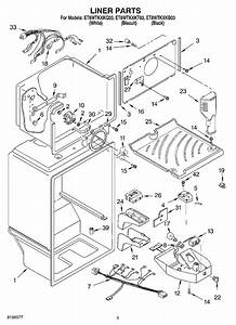 I Need The Wiring Diagram Of Whirlpool Refrigerator Model