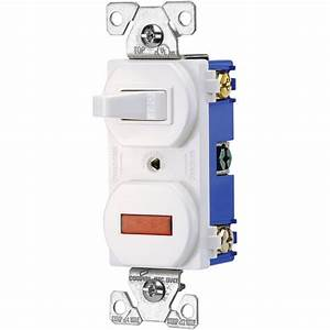 Eaton 15 Amp 3-way Light Switch  White-csb315stw-sp