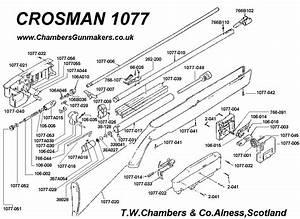 Airgunhome U0026 39 S Crosman 1077 Disassembly Guide