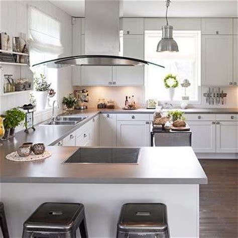 Kitchen Island Remodel Ideas - gray quartz countertops design decor photos pictures ideas inspiration paint colors and