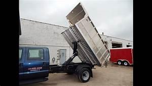 Truckcraft Tc503 Storm All Aluminum Landscape Dump Body Installed By Rondo Trailer