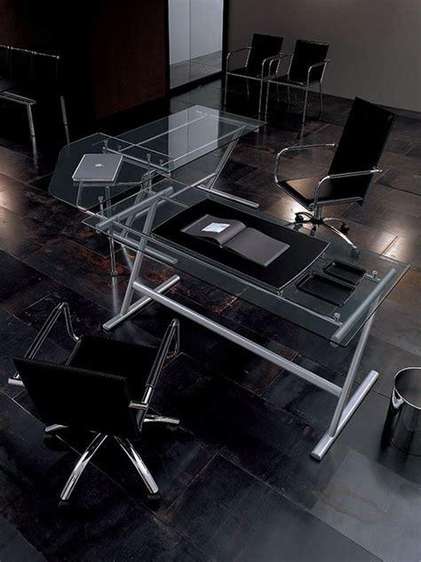 drive bureau drive table bureau midj en métal et verre en différentes