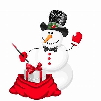 Snowman Christmas Clipart Magician Xmas Transparent Yopriceville
