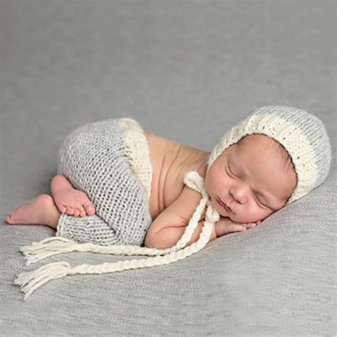 high quality   month baby crochet photography props