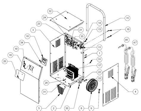 se  ca schumacher battery charger parts list