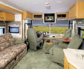 motor home interiors motorhome interior monty 39 s rv cing pictures