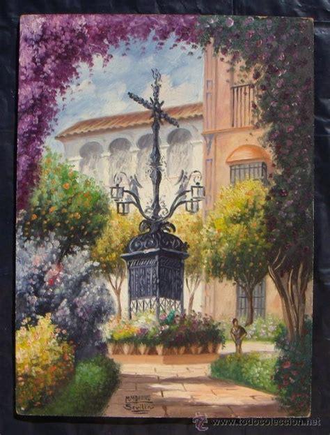 sevilla barrio de santa cruz original  vendido
