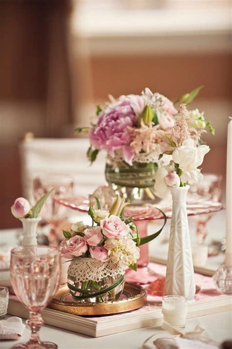 Vintage Wedding Table Decorations  Romantic Decoration
