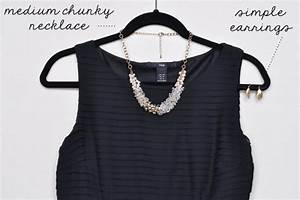 accessorizing a little black dress With jewelry to wear with black dress for wedding