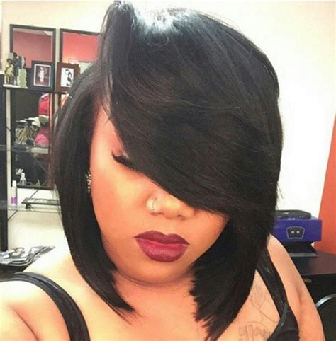 how to achieve a banging bob with a weave voice of hair