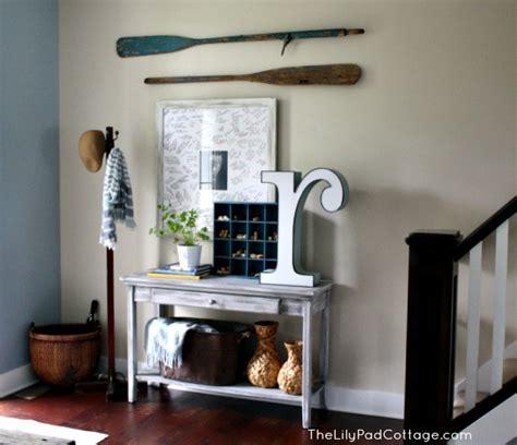 Entry Decor - vintage entryway decor trash to treasure the lilypad