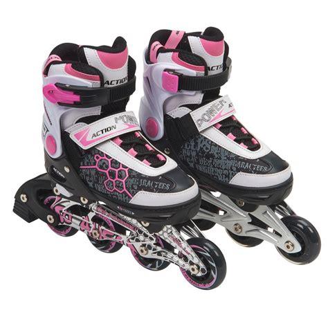 Pink Inline Roller Skates